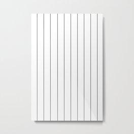 The thin line Metal Print