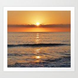 Capo Beach Sunset Art Print