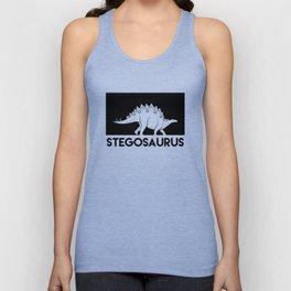 Stegosaurus Dinosaur Unisex Tank Top