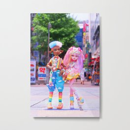 Decora Duo Metal Print