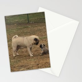 Pugfamily Stationery Cards