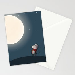 Little Mouse - Full Moon Stationery Cards