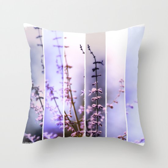 FLOWER - TWELVE Throw Pillow