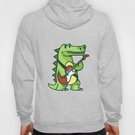 Guitar crocodile Hoody