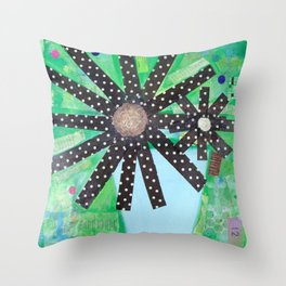 A lotta polka dots! Throw Pillow