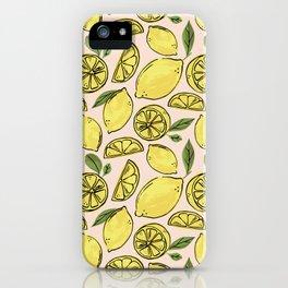 Make Some Freakin' Lemonade - Pink iPhone Case