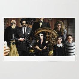 The Addams Family Rug