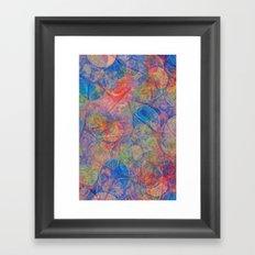 Abstract 1026-3 Framed Art Print