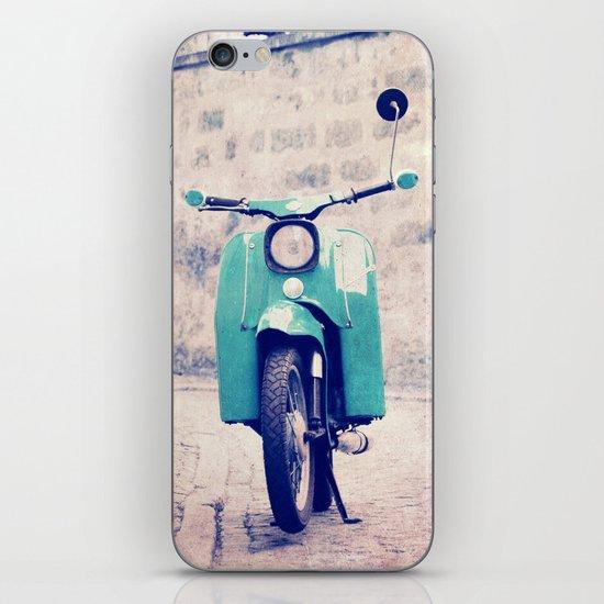 blue swallow iPhone & iPod Skin