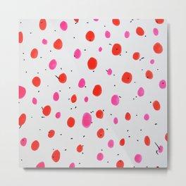 Bubble Gum Brights Metal Print