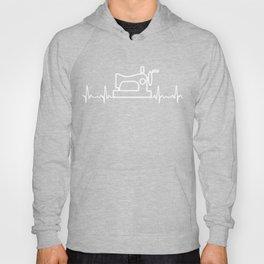Sewing Heartbeat Shirt. Best Gift Ideas. Hoody