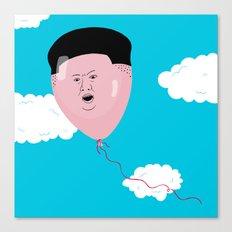 Kim Jong-Ball-Un Canvas Print