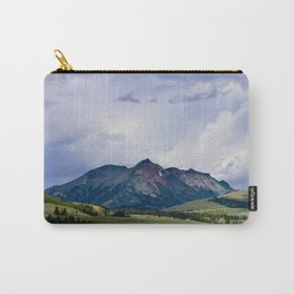 Electric Peak Yellowstone Carry-All Pouch