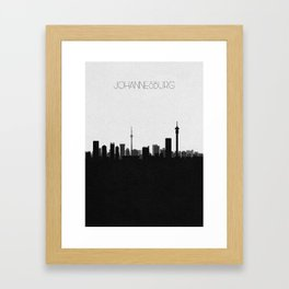 City Skylines: Johannesburg Framed Art Print