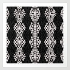 Baroque Style Inspiration G197 Art Print