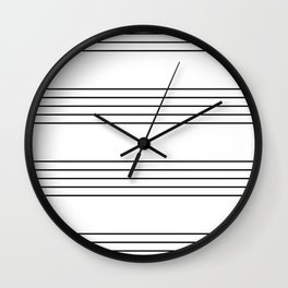 The Musician Wall Clock