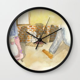 Please a little help! Wall Clock