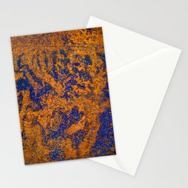 Rust Three Stationery Cards