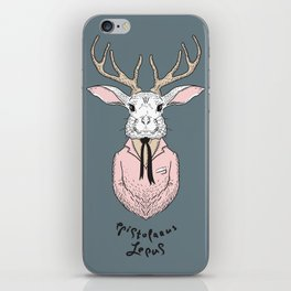Epistolarus Lepus (brume) iPhone Skin