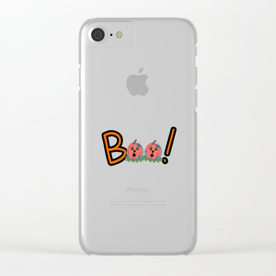 Boo Clear iPhone Case