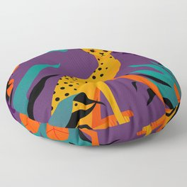 In the jungle Floor Pillow