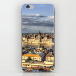 Budapest City View iPhone Skin
