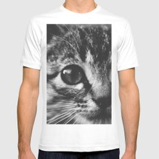 Big eyes Mens Fitted Tee White MEDIUM
