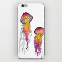 swim iPhone & iPod Skins featuring Swim  by Hedda Hultman