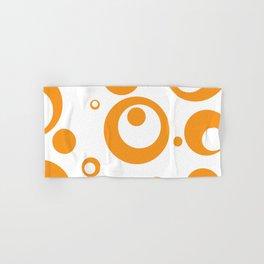 Circles Dots Bubbles :: Marmalade Inverse Hand & Bath Towel