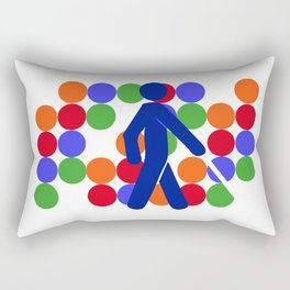COLOR BLINDNESS Rectangular Pillow