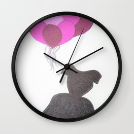 Ode to Audrey Wall Clock