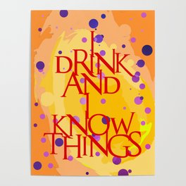 I Know Things Poster