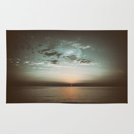 Sunset in camera obscura Rug