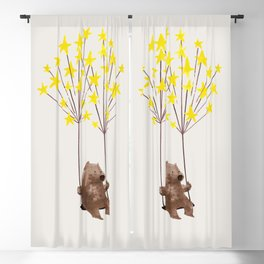 Stars Swing Blackout Curtain