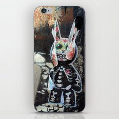 Dead bunny iPhone Skin
