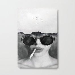 Dreams and cigarettes  Metal Print