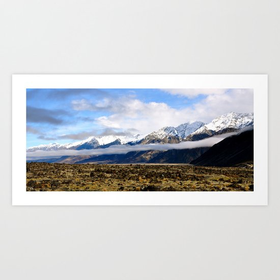 Otago Art Print