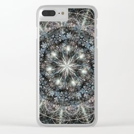Julia Mandala 3 Clear iPhone Case