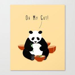 Oh My Gut! Canvas Print