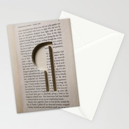 Paragraph Indentation Stationery Cards