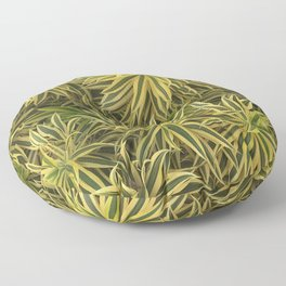 Tropical Plant Wall Floor Pillow