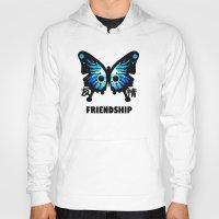 friendship Hoodies featuring Friendship by Jinventure