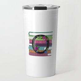 Bookish Monogram Collection O Travel Mug