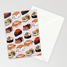 Sushi Persian Cat Stationery Cards