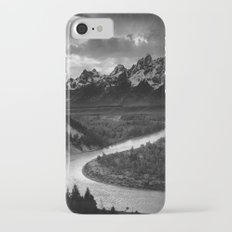 The Tetons and the Snake River  Slim Case iPhone 7