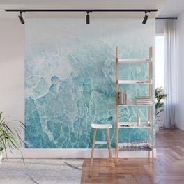 Sea Dream Marble - Aqua and blues Wall Mural