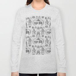 Ernst Haeckel - Spyroidea Long Sleeve T-shirt
