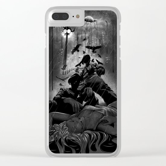 When the Moon Bleeds Clear iPhone Case