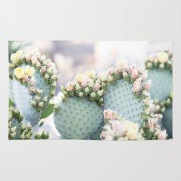 Spring Cactus Blossoms Rug
