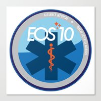 medical Canvas Prints featuring Alliance Medical by EOS 10